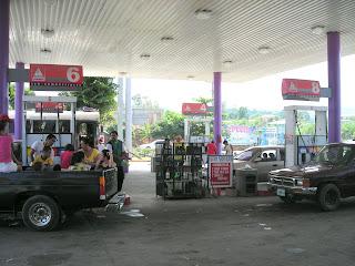 gas station, La Ceiba, Honduras
