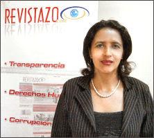 Dina Meza, Revistazo, Honduras