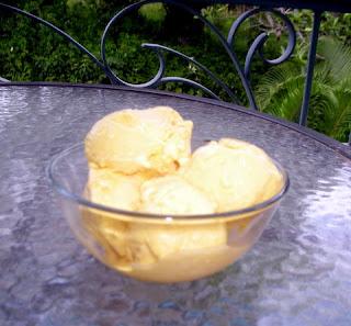 La Gringa's Mango Ice Cream
