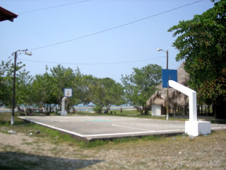 Basketball court, El Porvenir, Honduras