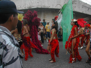 La Ceiba Carnival parade