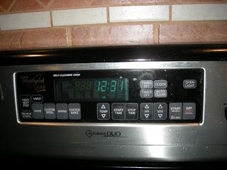 stove clock