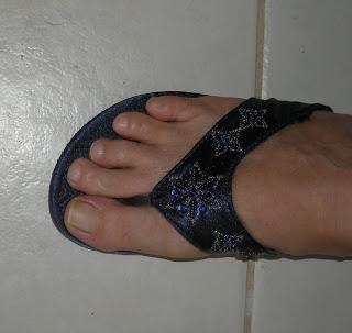 cheap Chinese flip-flops