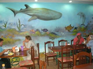 Kabasa restaurant, La Ceiba, Honduras
