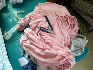 pencil laundering