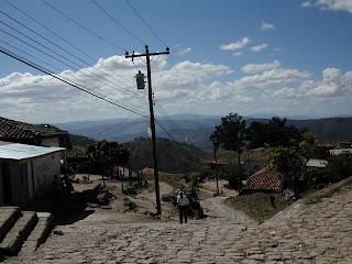 Road, Santa Lucia, Honduras