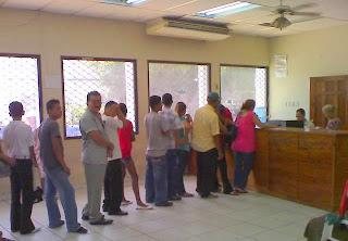 gringos, La Ceiba, Honduras