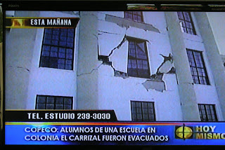San Pedro Sula, Honduras earthquake