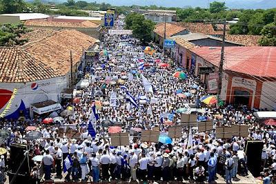 San Pedro Sula, Honduras, anti-Zelaya protesters