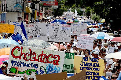 Choluteca, Honduras, anti-Zelaya protesters