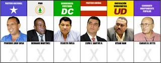 Honduran presidential candidates