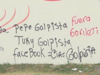 Facebook = CIA = Golpistas