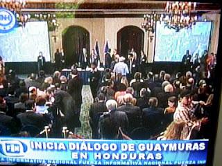 Honduras Guaymura dialogue