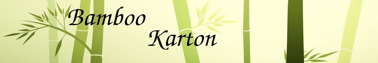Bamboo Karton