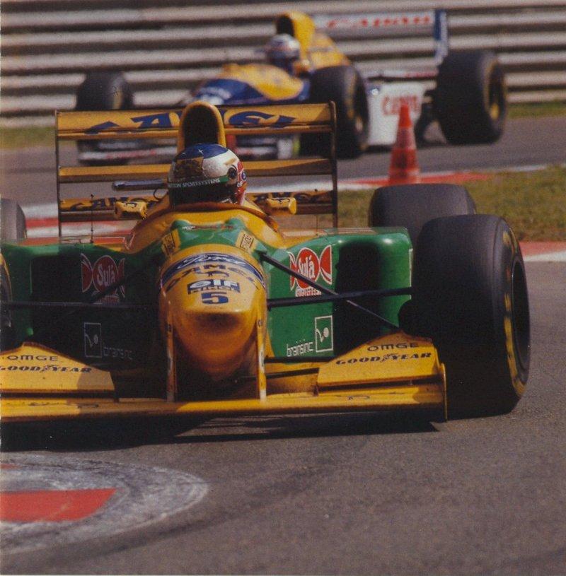 GP da Bélgica de Formula 1, Spa-Francorchamps em 1993 - trindadef1team.blogspot.com