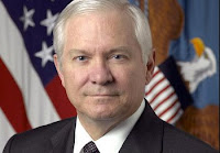 Robert M. Gates, U.S. Secretary of Defense.