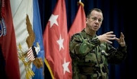 U.S. Navy Adm. Mike Mullen, chairman of the Joint Chiefs of Staff, addresses soldiers assigned to the 10th Mountain Division at Ft. Drum, N.Y., Feb. 9, 2009.