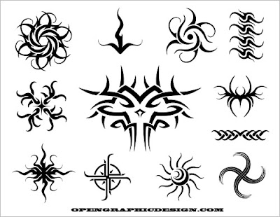 Tribal tattoo art is becoming more prominent every day.