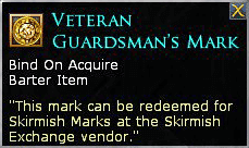 LOTRO Veteran Guardsman's Mark