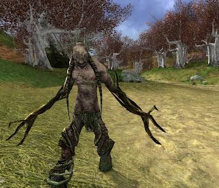 Wood troll in the Mournshaws