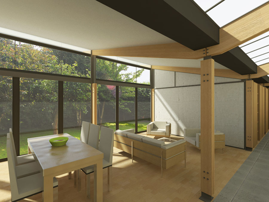 Small Modern House Interior Design