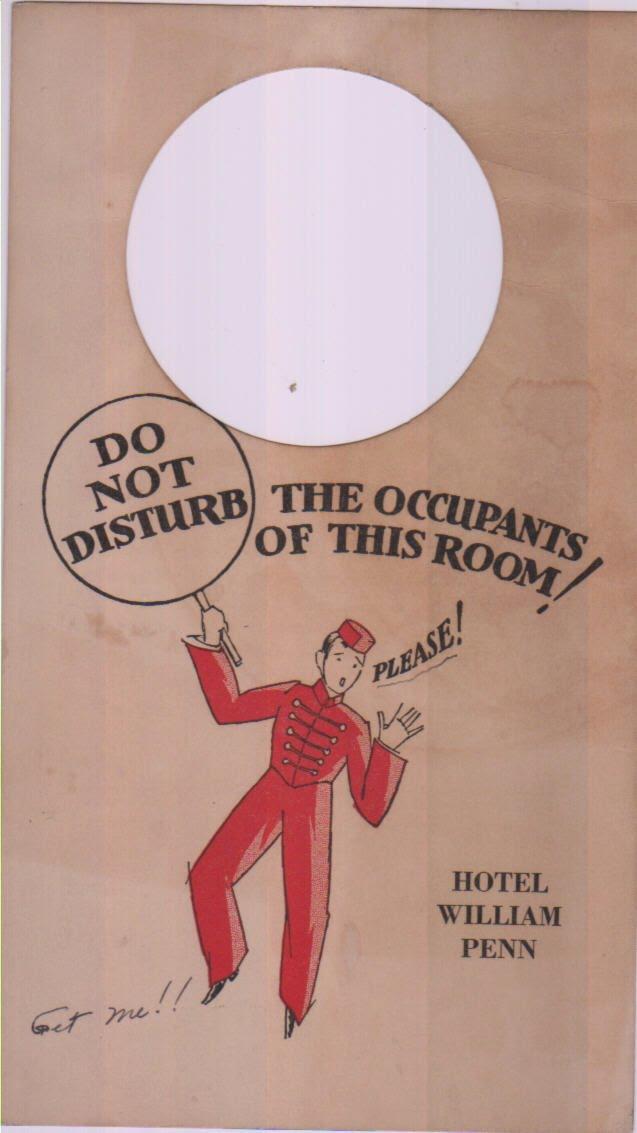 Confessions of a Bookplate Junkie: Hotel Ephemera