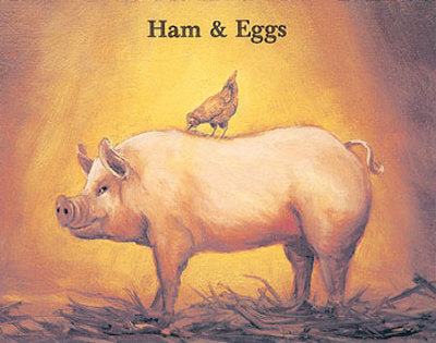 :: ham and eggs from frgo ::