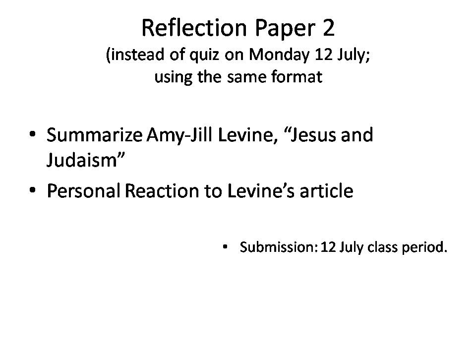how to write a reflection paper on a book