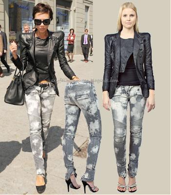 Las modas que van y vuelven Victoria+beckham+balmain+spring+2009