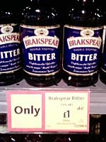 Brakspear's Bitter on sale in Morrisons at £1 per bottle