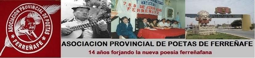 ASOCIACION PROVINCIAL DE POETAS DE FERREÑAFE