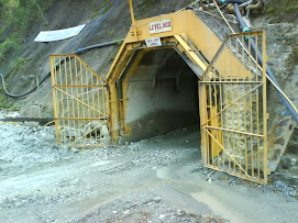 Mulut lobang tambang bawah tanah