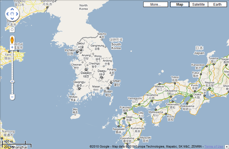 Lets ROK And Roll I Just Woke Up In South Korea - South korea us army bases map