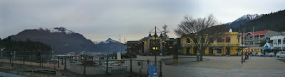 My New Zealand Vacation, Queenstown, Lake Wakatipu, Pano157