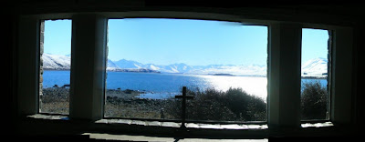 My New Zealand Vacation, Lake Tekapo, Church of the Good Shepherd, Pano216