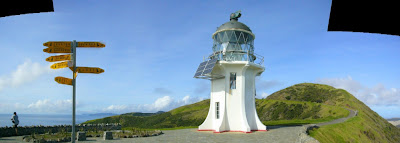 My New Zealand Vacation, Cape Reinga Lighthouse, Pano41