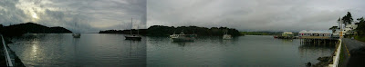 My New Zealand Vacation, Mangonui Village, Pano323