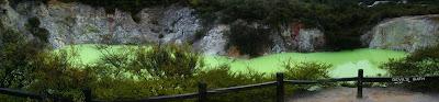 My New Zealand Vacation, Rotorua, Wai-O-Tapu, Pano12