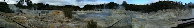 My New Zealand Vacation, Rotorua, Hell's Gate, Pano55