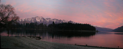 My New Zealand Vacation, Queenstown, The Remarkables, Pano149b