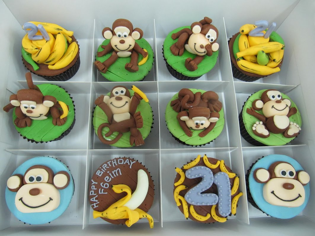 Monkey love cupcakes - photo#7