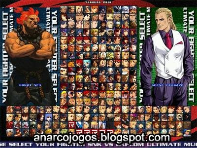 CAPCOM VS SNK Ultimate Mugem 2009 - Pc Game Full