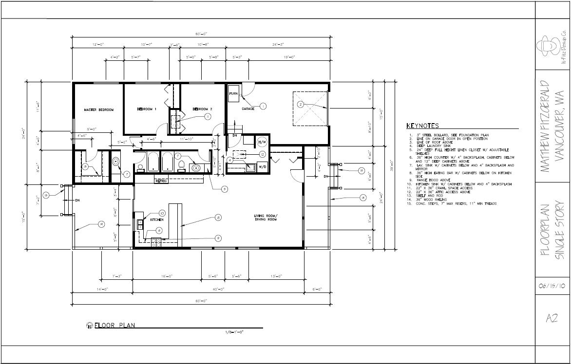 Portfolio architectural drafting w autocad for Free online architectural drawing program