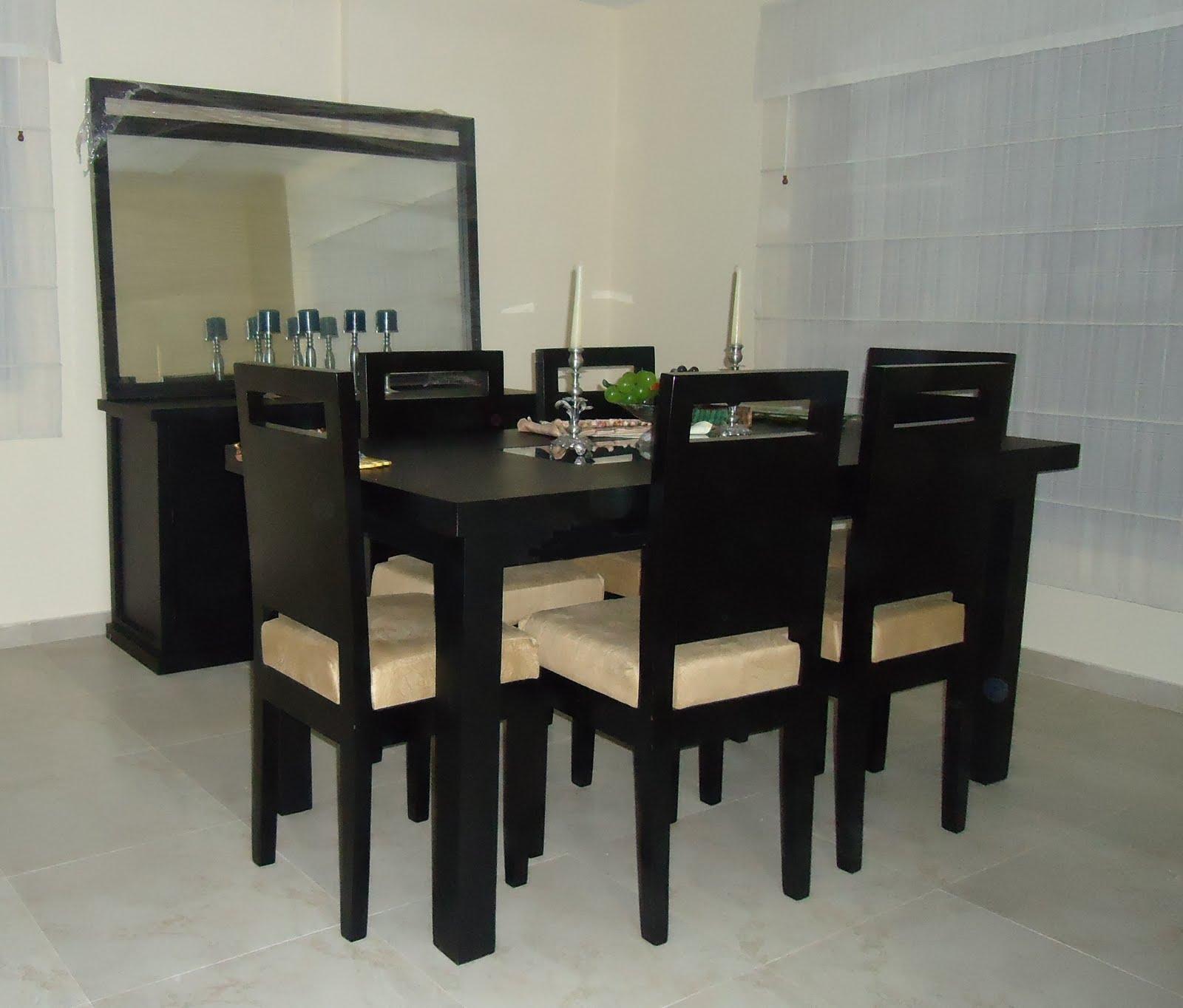 Comedores usados juegos de sala y comedor en muebles for Comedores usados
