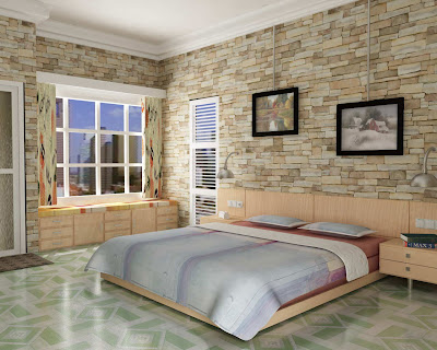 tips+for+interior+bedroom+design+brick