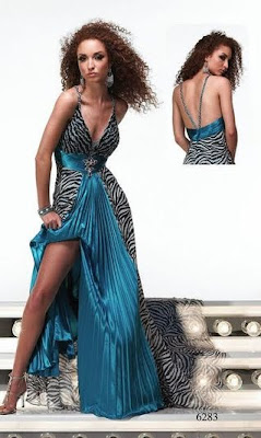 Prom Dress Designers on Zebra Print Prom Dress Designer Prom Dresses Sale Print Formal Gowns