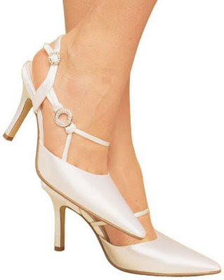 Weding Bridal Shoes Low Heel Ivory Wedding Shoes