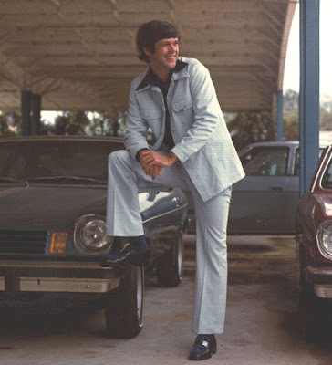handle leisure suits trans ams fat guy in a leisure suit with trans am