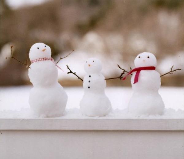 Mini snowmen for Small snowman