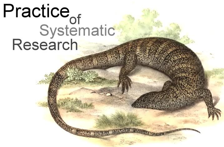 系統分類學研究實務 & 系統生物學